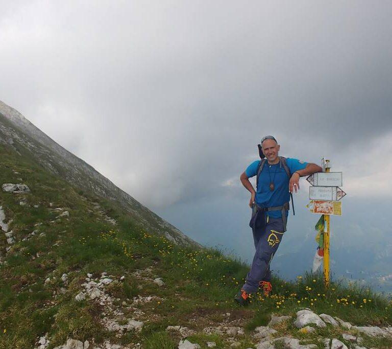 Cristiano Pignataro montagna
