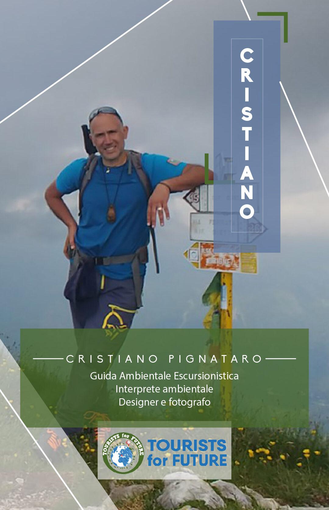 Cristiano Pignataro team memeber tourists4future fotografo guida ambientale escursionistica