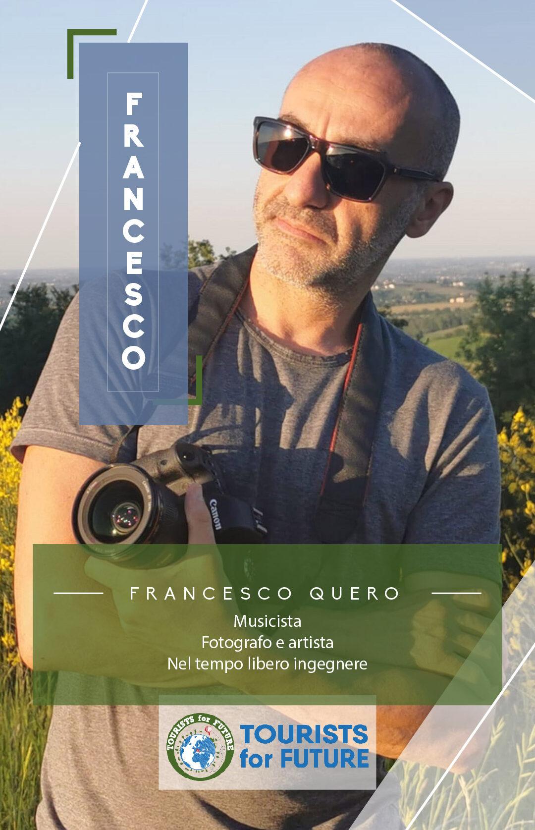 Team member francesco quero tourists4future